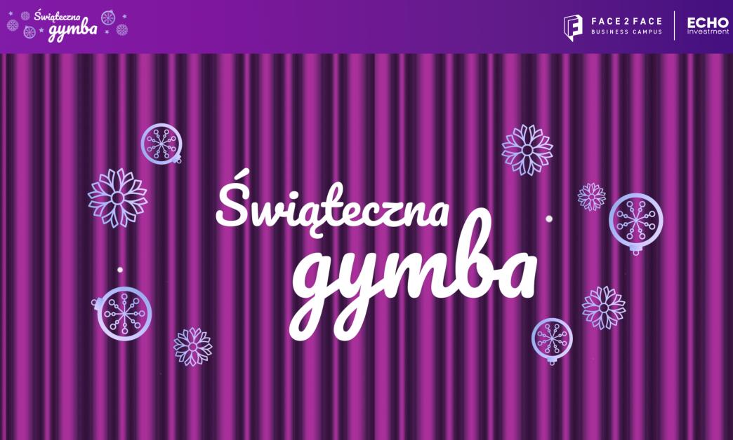 Świąteczna Gymba - ekran powitalny