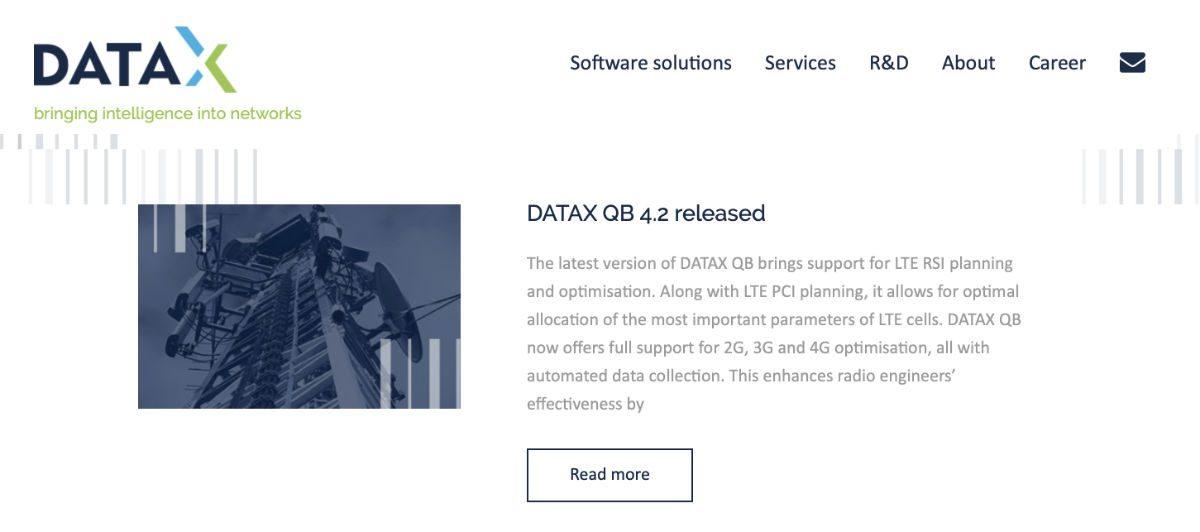 Datax / Strona WWW